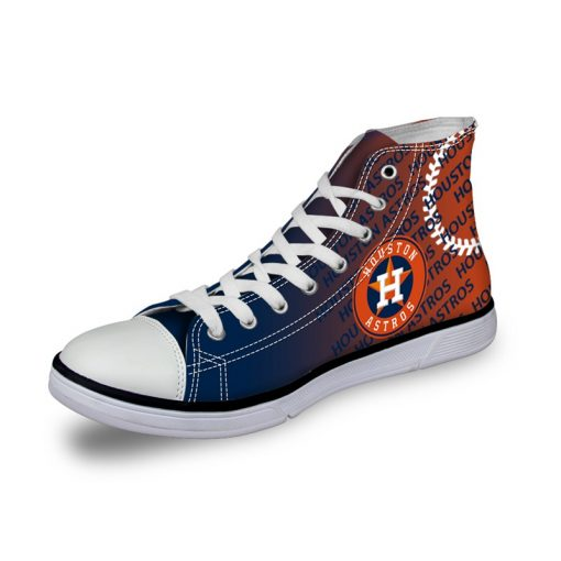 Houston Astros Lace-Up Sneakers