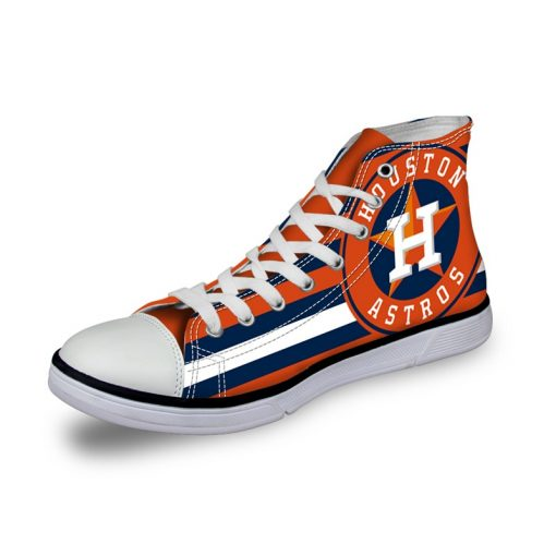 Houston Astros 3D Casual Canvas Shoes Sport