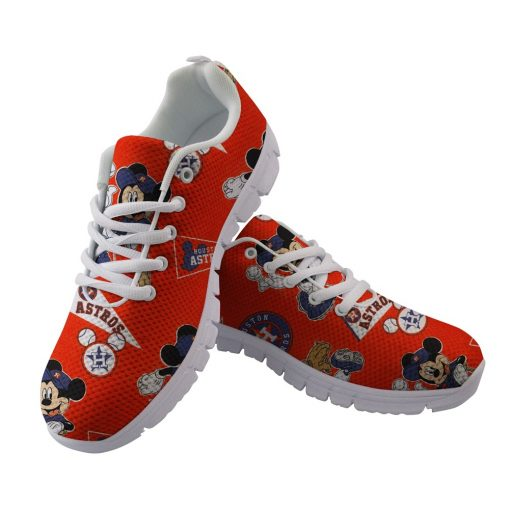 Houston Astros Custom 3D Running Shoes