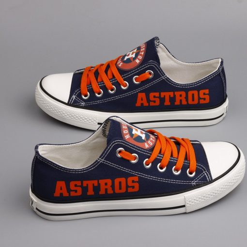 Houston Astros Limited Low Top Canvas Sneakers