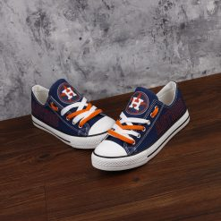 Houston Astros Limited Fans Low Top Canvas Sneakers