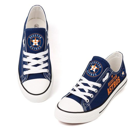 Houston Astros Limited Print MLB Baseball Fans Low Top Canvas Shoes Sport Sneakers T DAC175L 1578403684585 2