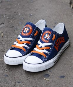 Houston Astros Limited Low Top Canvas Shoes Sport
