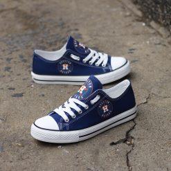 Houston Astros Limited Fans Low Top Canvas Shoes Sport