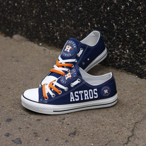 Astros Limited Low Top Canvas Sneakers