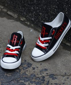 Houston Rockets Limited Low Top Canvas Sneakers