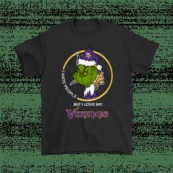 I Hate People But I Love My Minnesota Vikings Shirts