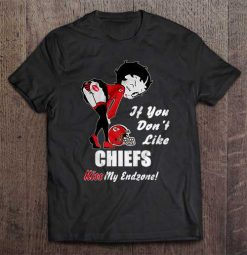 If You Don T Like Chiefs Kiss My Endzone Kansas Streetwear Harajuku City 100 Cotton Men