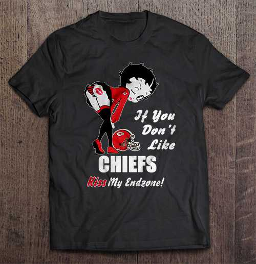 If You Don T Like Chiefs Kiss My Endzone Kansas Streetwear Harajuku City 100 Cotton Men