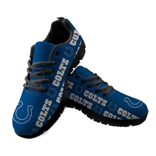 Indianapolis Colts Custom 3D Print Running Sneakers