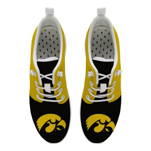 Iowa Hawkeyes Customize Low Top Sneakers College Students