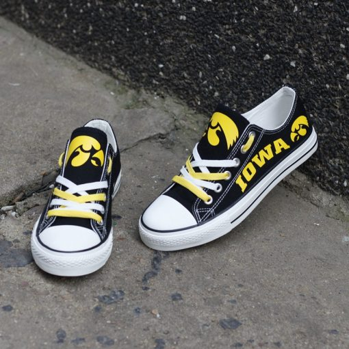 Iowa Hawkeyes Limited Low Top Canvas Sneakers