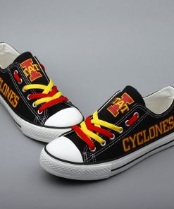 Iowa State Cyclones Limited Low Top Canvas Sneakers