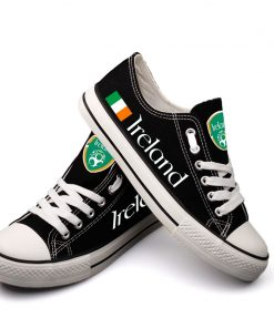 Ireland National Team Low Top Canvas Sneakers