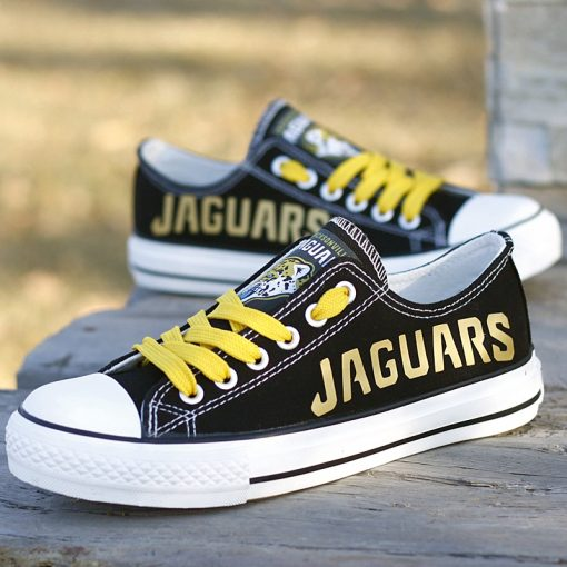 Jacksonville Jaguars Limited Low Top Canvas Sneakers
