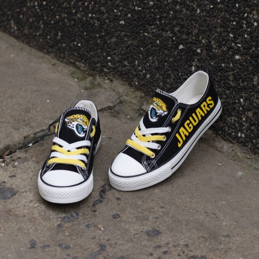 Jaguars Limited Low Top Canvas Sneakers