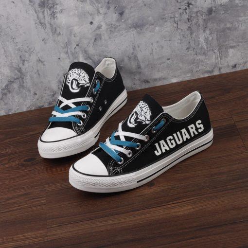 Jacksonville Jaguars Limited Luminous Low Top Canvas Sneakers