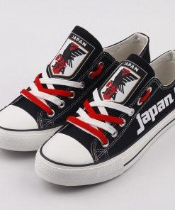 Japan National Team Low Top Canvas Sneakers