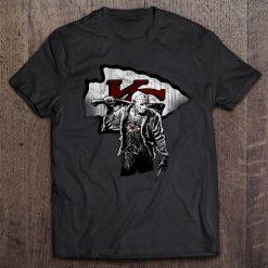 Kansas Streetwear Harajuku City 100 Cotton Men S Tshirt Chiefs Friday The 13Th Tshirts