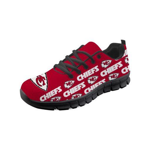 Kansas City Chiefs Custom 3D Print Running Sneakers