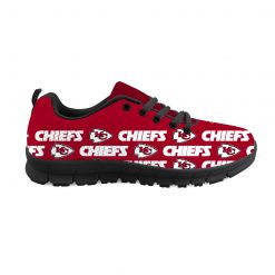 Kansas City Chiefs Custom 3D Print Running Sneakers