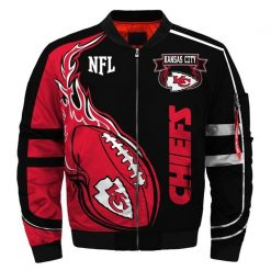 Kansas City Chiefs Fans Bomber Jacket Men Women