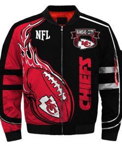Kansas City Chiefs Fans Bomber Jacket Men Women