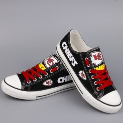 Kansas City Chiefs Limited Low Top Canvas Sneakers