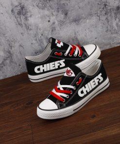 Kansas City Chiefs Limited Luminous Low Top Canvas Sneakers