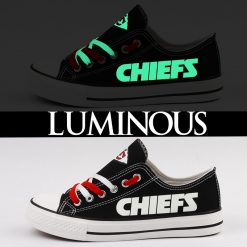 Kansas City Chiefs Limited Luminous Low Top Canvas Sneakers