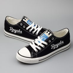 Kansas City Royals Limited Low Top Canvas Sneakers