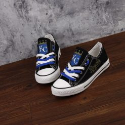 Kansas City Royals Low Top Canvas Sneakers