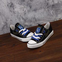 Kansas City Royals Low Top Canvas Sneakers