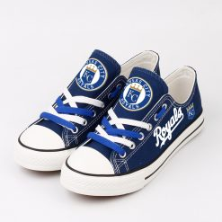 Kansas City Royals Limited Fans Low Top Canvas Sneakers