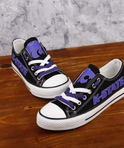 Kansas State Wildcats Limited Low Top Canvas Sneakers