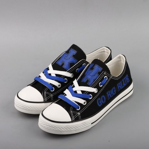 Kentucky Wildcats Limited Low Top Canvas Shoes Sport