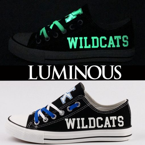 Kentucky Wildcats Limited Luminous Low Top Canvas Sneakers