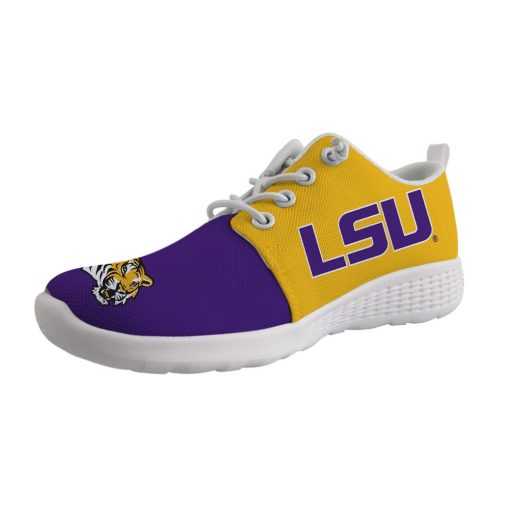 LSU Tigers Customize Low Top Sneakers College Students