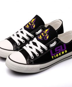 LSU Tigers Limited Low Top Canvas Shoes Sport