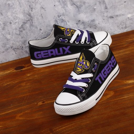 LSU_Tigers_Limited_Print_NCAA_College_Students_Low_Top_Canvas_Shoes_Sport_Sneakers_T_DV206H_1564902462302_3