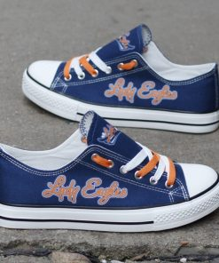 Lady Eagles Limited High School Students Low Top Canvas Sneakers