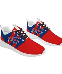 London Style Breathable Men Women Running Shoes Custom Buffalo Bills