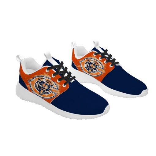 London Style Breathable Men Women Running Shoes Custom Chicago Bears