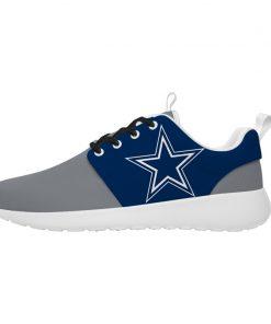 London Style Breathable Men Women Running Shoes Custom Dallas Cowboys
