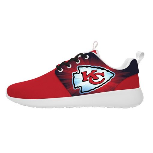 London Style Breathable Men Women Running Shoes Custom Kansas City Chiefs