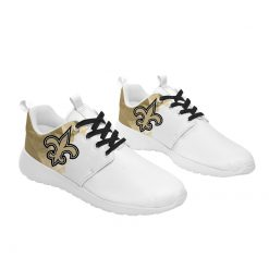 London Style Breathable Running Shoes Custom New Orleans Saints