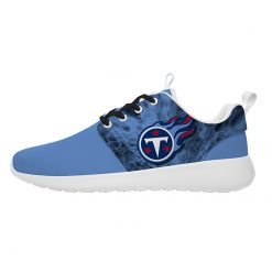 London Style Breathable Men Women Running Shoes Custom Tennessee Titans