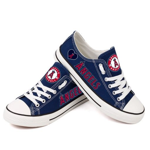 Los Angeles Angels Low Top Canvas Shoes Sport