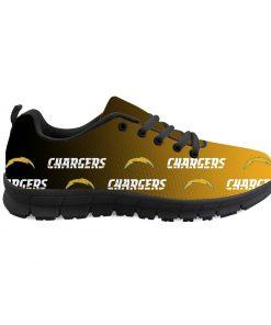 Los Angeles Chargers Custom 3D Print Running Sneakers