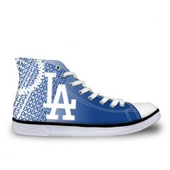 Los Angeles Dodgers Lace-Up Shoes Sport